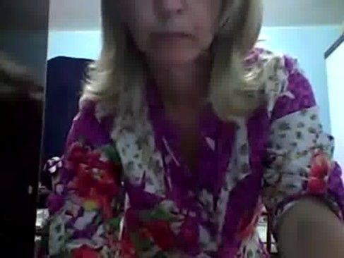 Casada safada se mostrando na webcam