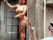 Mulher Melao exibindo sua bunda gostosa